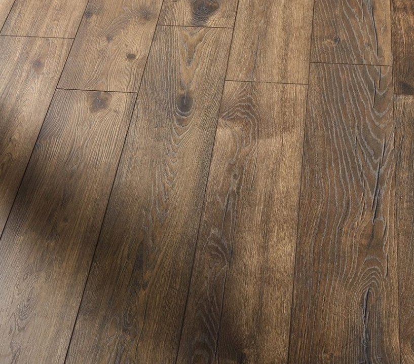 before and after Hardwood floor sanding and polishing, Enfield