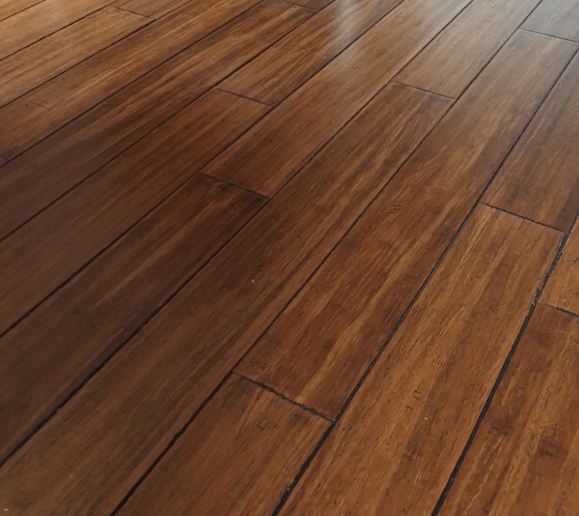 before and after solid wood floor sanding and repairs, Enfield