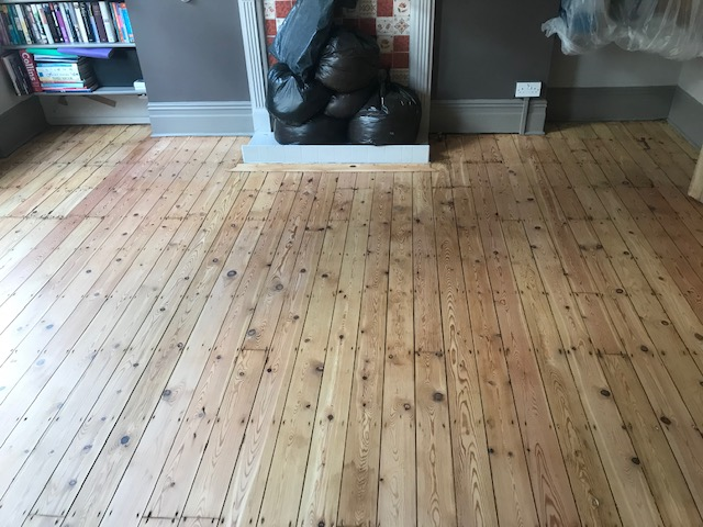 Hardwood floor sanding and finishing services, West Bank