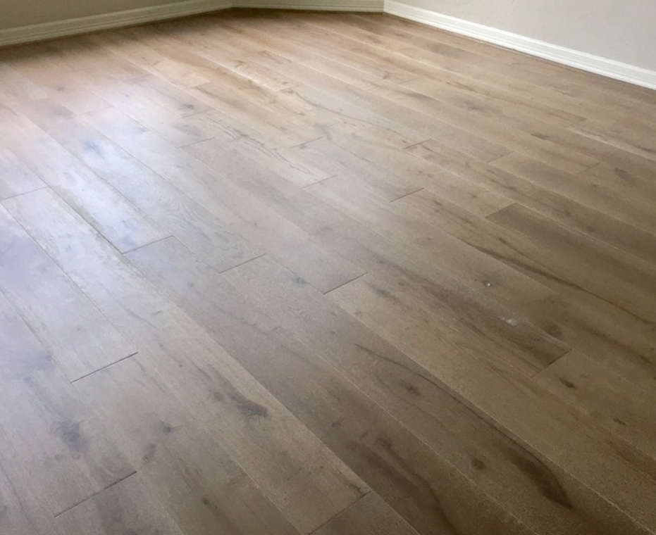 Engineered wood floor sanding, Kensington