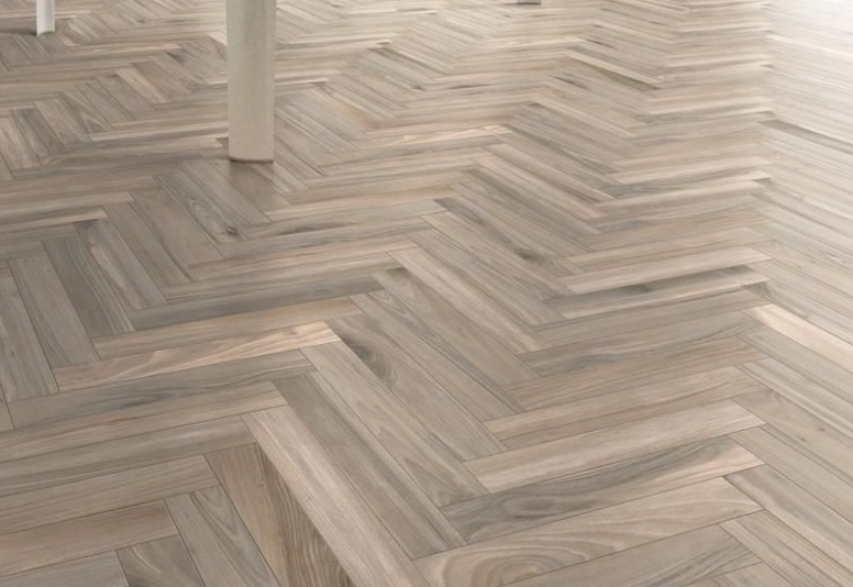 example before and after of Parquet flooring restoration in a luxury house, Tottenham