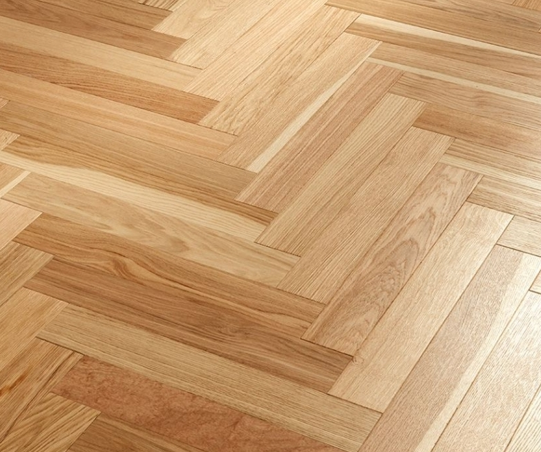 before and after Parquet sanding and gap filling, Kent