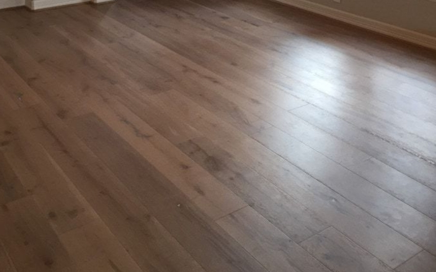 Solid wood floor sanding of AirBNB property, Kensington