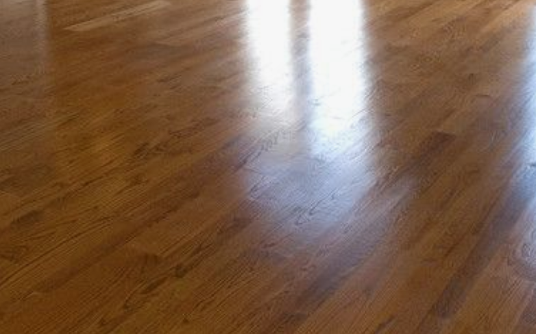 Solid wood floor sanding and finishing, Fulham