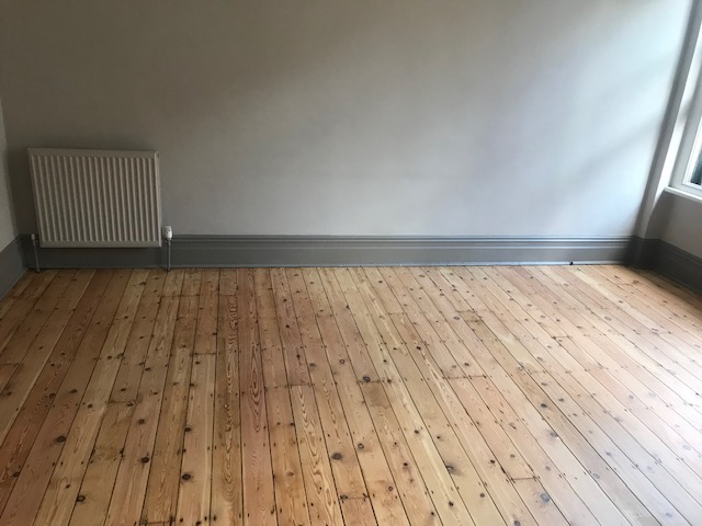 Wood flooring sanding and finishing services, West Bank