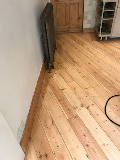 finishing kitchen floor london