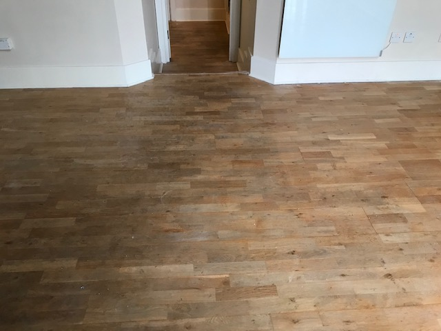 example of Solid wood floor sanding and reclaiming, Holland Park