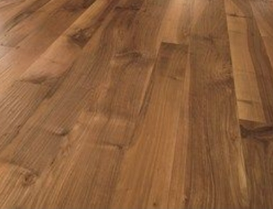 Before and after Hardwood floor sanding and staining, Islington