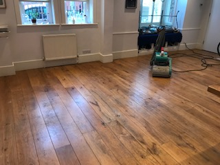 Hammersmith sanding preparation