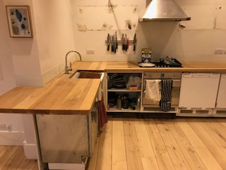 kitchen floor renovation Hammersmith